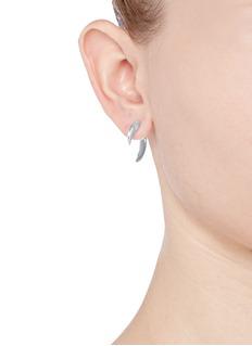 Shaun LeaneSilver talon earrings