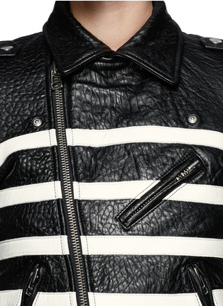 Detail View - Click To Enlarge - EACH X OTHER - X Robert Montgomery lamb leather jacket