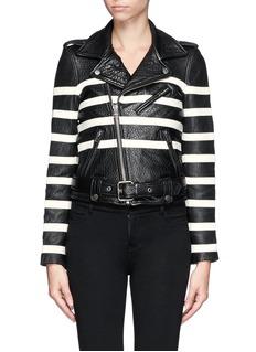 EACH X OTHERX Robert Montgomery lamb leather jacket