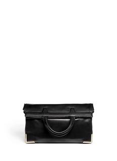 ALEXANDER WANG Prisma skeletal leather lunch bag