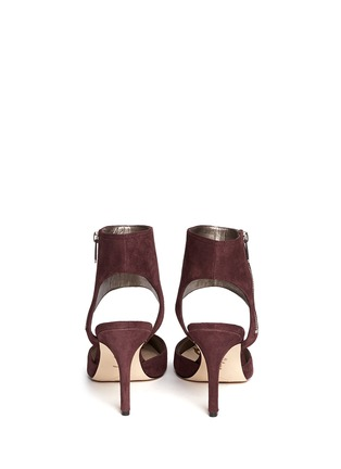 Back View - Click To Enlarge - Sam Edelman - 'Zaida' cutout suede pumps