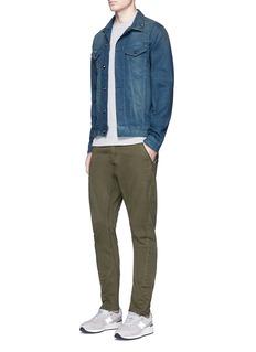 Denham'JV' raglan sleeve sweater