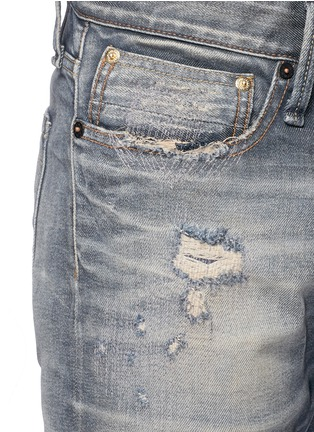 Detail View - Click To Enlarge - Denham - 'Razor' slim fit Candiani selvedge jeans