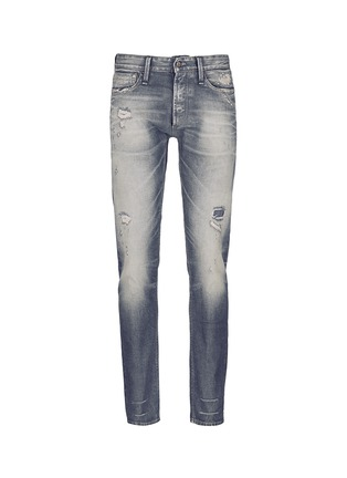 Main View - Click To Enlarge - Denham - 'Razor' slim fit Candiani selvedge jeans