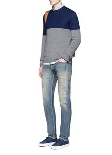 Denham'Razor' slim fit ripped jeans