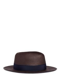 LardiniFloral pin band paper straw hat