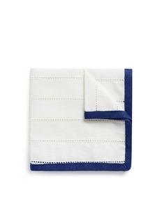 LardiniLadder stitch trim pocket square