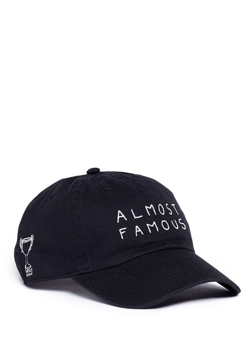 Almost Famous embroidered baseball cap by Nasaseasons