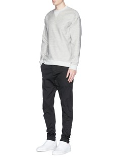 bassike Cotton twill sweatshirt