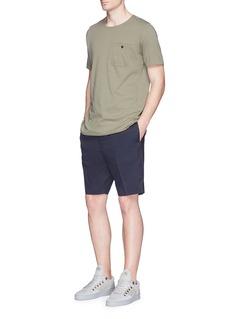 bassikePatch pocket organic cotton T-shirt