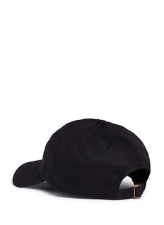 Pound 'Flag' embroidered cotton twill baseball cap