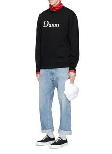 PoundSlogan print sweatshirt