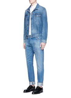 Valentino'Rockstud Untitled 19' denim jacket