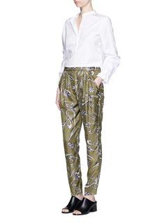 3.1 Phillip LimFloral print silk pants