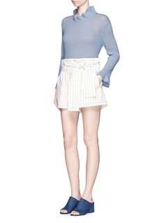 3.1 PHILLIP LIMRuffle wool-cashmere sweater