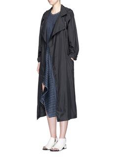 3.1 PHILLIP LIMRuffle trim cutout back linen dress