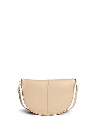Back View - Click To Enlarge - Elizabeth and James - 'Scott Mini Moon' leather shoulder bag