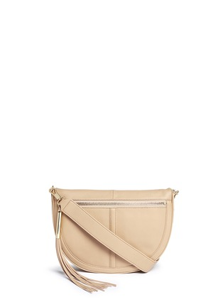 Main View - Click To Enlarge - Elizabeth and James - 'Scott Mini Moon' leather shoulder bag