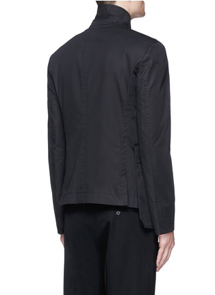 Back View - Click To Enlarge - Alexander McQueen - Medallion embroidery uniform jacket