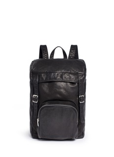Saint Laurent 'Hunting' leather backpack
