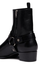 'Wyatt 40' harness leather boots