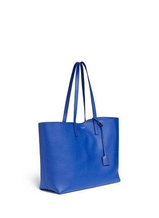 Front View - Click To Enlarge - Saint Laurent - Large calfskin leather tote