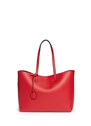 Saint Laurent - Large calfskin leather tote