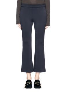 THEORY'Rabeanie KB' cropped wide leg pants