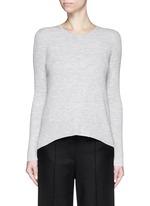 'Ellyna' Merino wool rib knit sweater