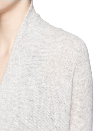 Detail View - Click To Enlarge - Theory - 'Ashtry J' shawl collar cashmere cardigan
