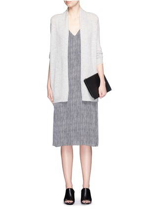 Figure View - Click To Enlarge - Theory - 'Ashtry J' shawl collar cashmere cardigan