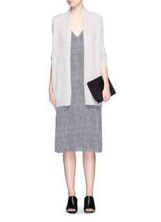 THEORY'Ashtry J' shawl collar cashmere cardigan