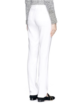 Back View - Click To Enlarge - Theory - 'Izelle B' stretch crepe pants