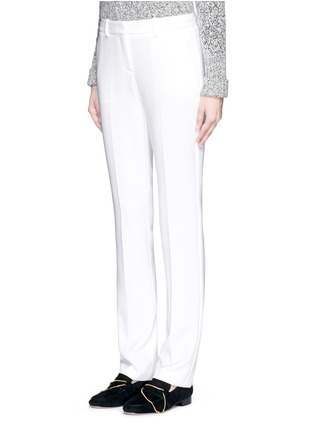 Front View - Click To Enlarge - Theory - 'Izelle B' stretch crepe pants