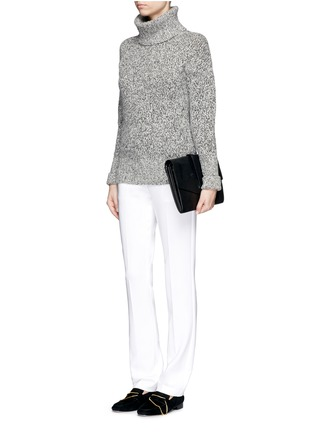 Figure View - Click To Enlarge - Theory - 'Izelle B' stretch crepe pants