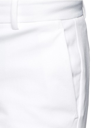 Detail View - Click To Enlarge - Theory - 'Izelle C' cropped twill pants