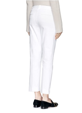 Back View - Click To Enlarge - Theory - 'Izelle C' cropped twill pants