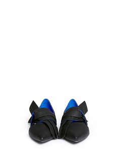PROENZA SCHOULERBow vamp leather d'Orsay flats