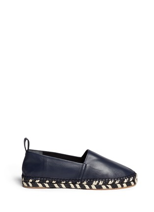Main View - Click To Enlarge - Proenza Schouler - Leather espadrille slip-ons