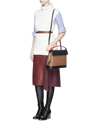 Marni - 'Every Day' colourblock leather bag