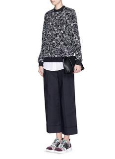MARKUS LUPFER'Linear Woodland' Annabella sweatshirt