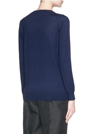 Back View - Click To Enlarge - MARKUS LUPFER - 'Fawn' sequin Natalie sweater