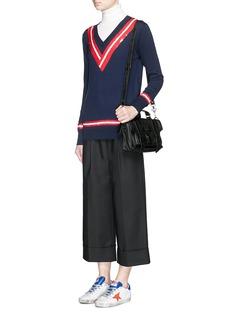 MARKUS LUPFER'Sequin Stripe Cricket' Caroline sweater