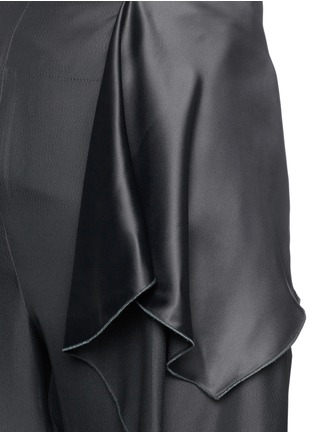 Detail View - Click To Enlarge - Stella McCartney - 'Layton' ruffle peplum cropped pants