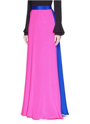 Front View - Click To Enlarge - Roksanda - 'Leighton' silk crepe skirt