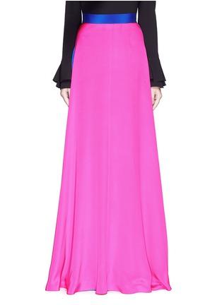 Main View - Click To Enlarge - Roksanda - 'Leighton' silk crepe skirt