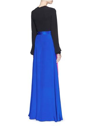 Figure View - Click To Enlarge - Roksanda - 'Leighton' silk crepe skirt