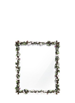 Main View - Click To Enlarge - LANE CRAWFORD - Botanica small flower 8R photo frame