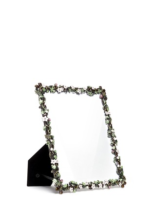 Figure View - Click To Enlarge - LANE CRAWFORD - Botanica small flower 8R photo frame