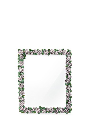 Main View - Click To Enlarge - LANE CRAWFORD - Botanica round peony 8R photo frame